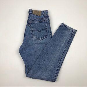 Vintage Levi's High Waist wedgie fit Jeans Sz 23
